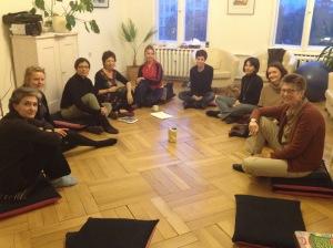 Die Gruppe war gemischt. Die psychische Gesundheit Profis sind Italienisch, Französisch, Südamerikaner.