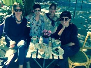 Da sinistra a destra. Luciana Degano, Valentina Campanella, Annalisa Maggiani, Giulia Borriello.