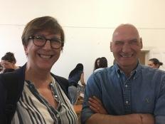 Assemblea Soci 2019 - due educatori professionisti che hanno partecipato