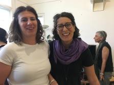 Alice Marchetto, vice Presidente Artemisia e.V. e Eleonora Voli
