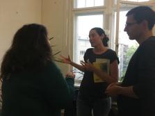 La collega lavora in un centro rifugiati e racconta la sua esperienza