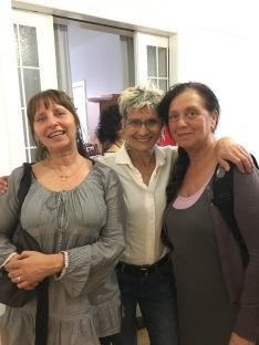 Arteterapeute Lucia Spada ed Ester Chinescon Annalisa Maggiani
