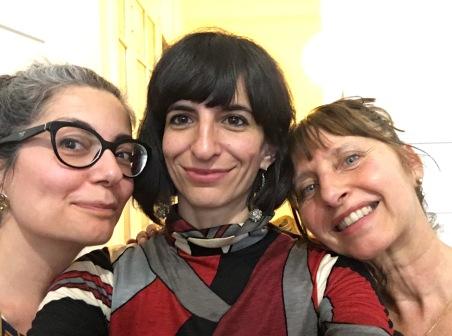 Valentina Campanella, Giulia Borriello, Annalisa Maggiani