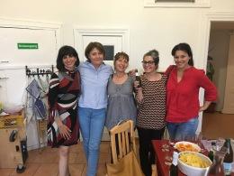 Socie fondatrici di Salutare con la terapeuta e ricercatrice Alessandra Mancini