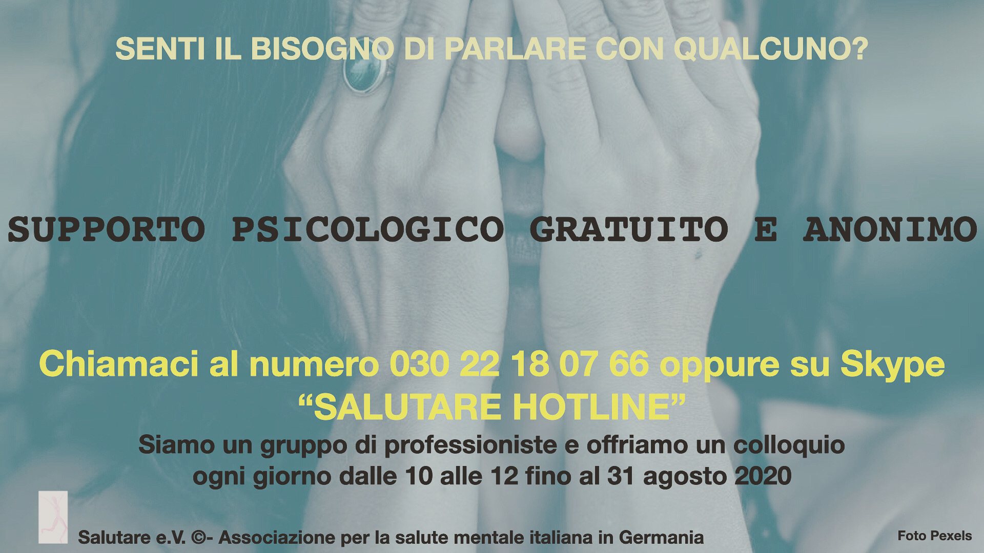 Flyer ultimo Salutare